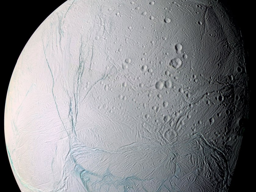 The discussion on the possibility of extraterrestrial life in the solar system centers on four bodies: Mars, Enceladus, Jupiter's moon Europa, and Titan, another moon of Saturn.